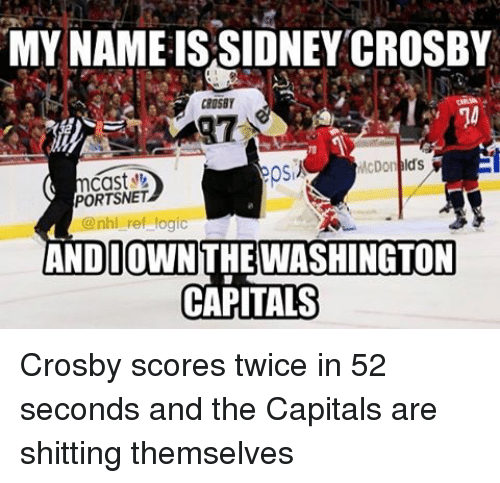 my name is sidney crosby crosby mcdonelds portsnet nhl ref 20324465 my name is sidney crosby crosby mcdonelds portsnet ref logic and i
