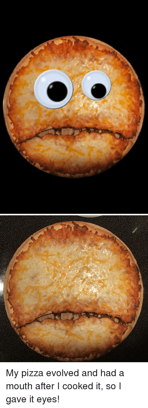 pizza and how it has evolved Only in 1700 ad did people consider actually baking the bread and toppings  together resulting in the delectably melty thing we know as pizza.