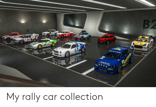 rally car: My rally car collection