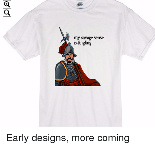 Crafty Conquistador: my Savage sense  is tingling Early designs, more coming