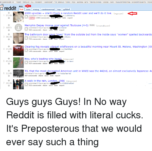Image of: Layout Beautiful Funny And Nsfw My Subreddits Front Popular All Random Askreddit Ruin My Week My Subreddits Front Popular All Random Askreddit The Donald