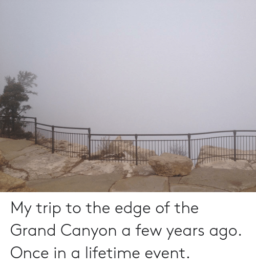 the grand canyon: My trip to the edge of the Grand Canyon a few years ago. Once in a lifetime event.