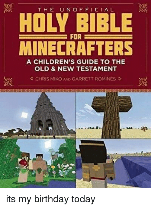 holy bible for minecrafters pdf