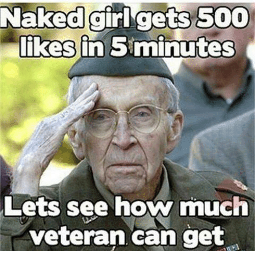 Girls, Naked, and Naked Girl: Naked girl gets 5000  likes in 5minutes  Lets see how much  veteran can get