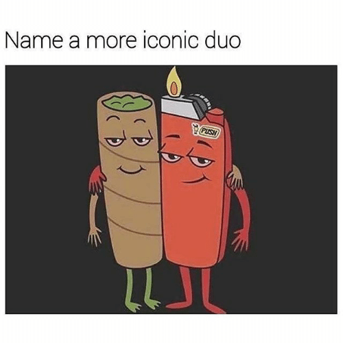 Memes, Iconic, and 🤖: Name a more iconic duo  PUSH