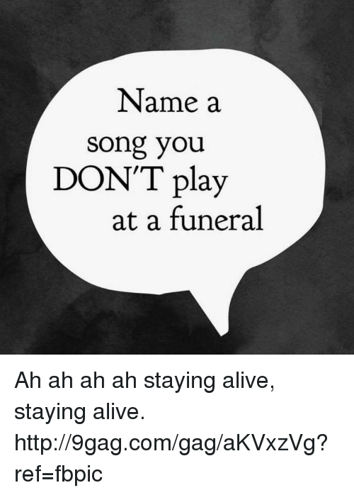 a song not to play at a funeral