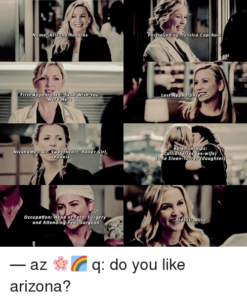 when do arizona and callie start dating Maddie and ben are dating,  do you remember the alice's  not only that but when callie and arizona wanted to try for another baby and they thought.