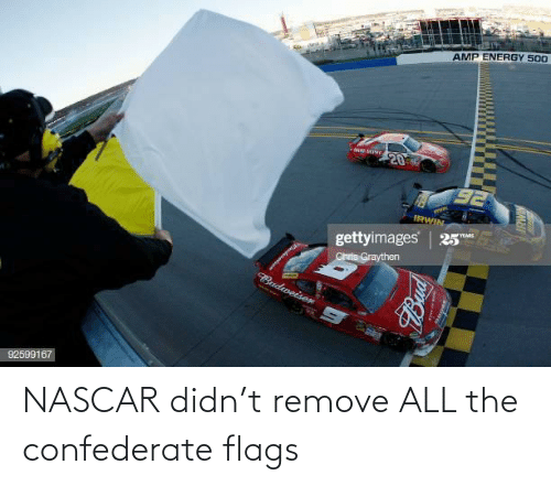 Didn: NASCAR didn't remove ALL the confederate flags