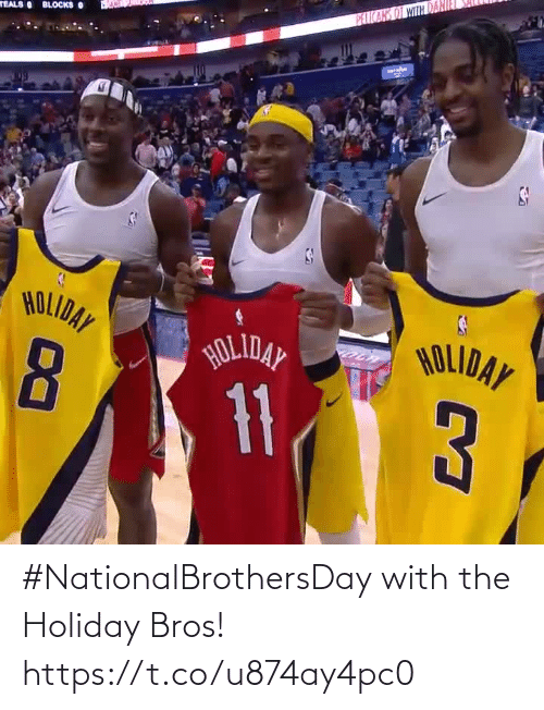 bros: #NationalBrothersDay with the Holiday Bros!    https://t.co/u874ay4pc0