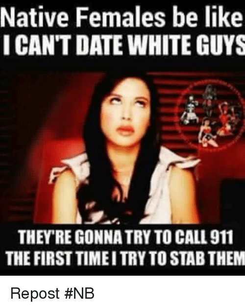 Native american dating white
