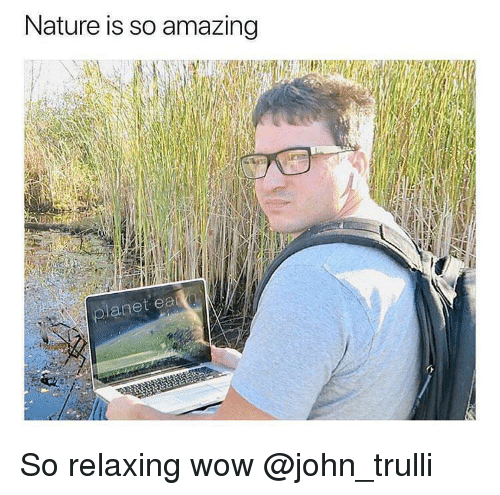 so amazing: Nature is so amazing  anet So relaxing wow @john_trulli
