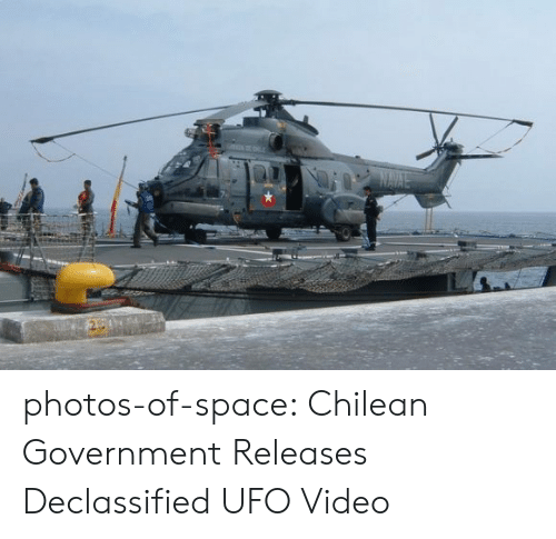 Tumblr, Blog, and Http: NAVLE photos-of-space:  Chilean Government Releases Declassified UFO Video