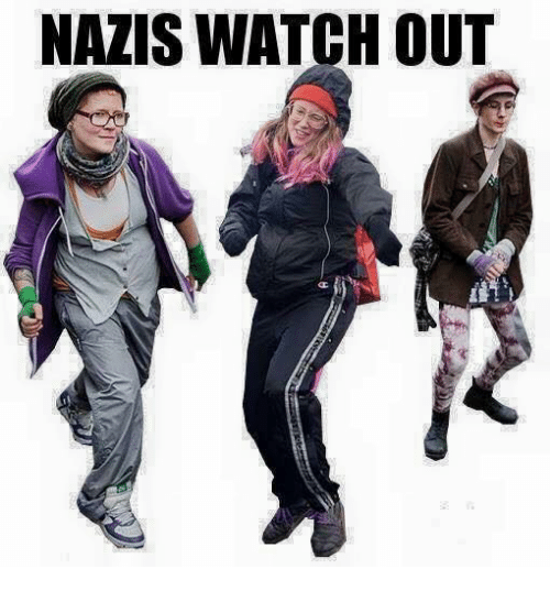 Watch Out, Watch, and Watches: NAZIS WATCH OUT