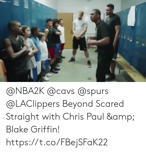 cavs: @NBA2K @cavs @spurs @LAClippers Beyond Scared Straight with Chris Paul & Blake Griffin!    https://t.co/FBejSFaK22