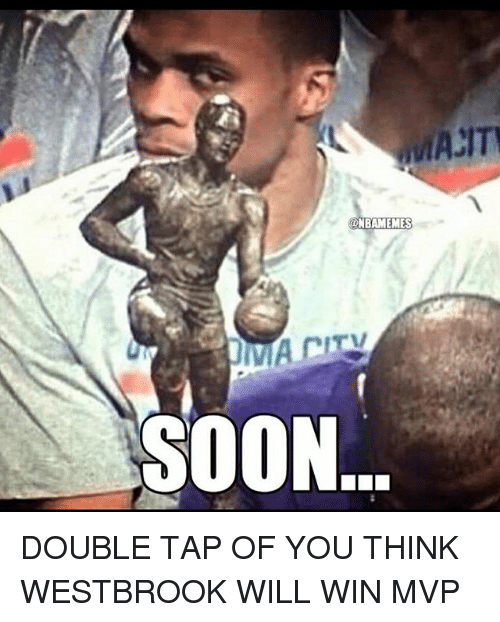 Basketball, Soon..., and Sports: NBAMEMES  ITV  SOON DOUBLE TAP OF YOU THINK WESTBROOK WILL WIN MVP