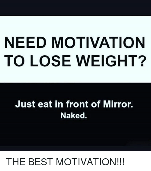 just eat healthy to lose weight