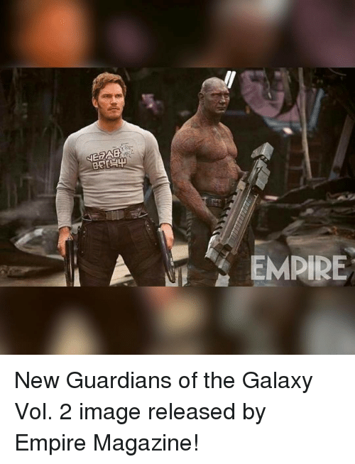 empirical: NERAB  EMPIRE New Guardians of the Galaxy Vol. 2 image released by Empire Magazine!