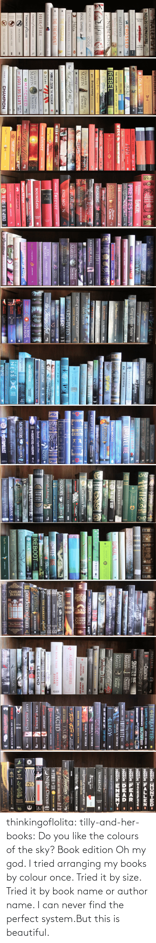 Boundless: NESS  solitaire, MAN.  PITTACUS  LORE  FALL FIVE  HARRY POTTER  de ly Helle  J.K.ROWLENG ra  DRAGONFLY  IN AMBER  DIANA  PITTACUS REVENGESSEVEN O  *LOLA OY NEXT DOOR  LORE  GABALDON  and the  J.K.ROWLING r  HARRY POTTER  RUTA SEPETYS between shades of gray  JACKSON  ERICK RIORDAN S  AN ABINDANCE OF KATHERINES JOHN GREEN @  speak  9CHOSSED  PIVH  SALLY  ALLY  CONDIE  GREEN  JK.ROWLING  HaLLoweD  JOHN GREEN PAPER TOWNS  KISS  TAPNICI INE WCM  THE SILVER LININGS MATTHEW QUICK MICADOR  Before I FalI  LAT .....  LAUREN OLIVER  Night Circus  REBEL  AMY  TINTERA  GARIANA  BALDON  THE FIERY  CROSS  LEIN MORGEN  City of Bones  Maggie Stiefvater Lanient  Tina Fey Bossypants  THE GIVER LOIS LOWRY  GAMEBOARD  OF THE  Disharmony  GIN OF NIGATIVLANE  LEAH GIARATANO  RICHELLE MEAD  GODS  GEORGE RR.  MARTIN  GAME oF  THRONES  City of Fallen Angels  FINAL EMPIRE  BRANDON  SANDERSON  ELITE  Jtolen  Lucy Christopher  KATE M.CAFFREY CRASHING Aown a  City of Glass  A THOUSAND PIECES OF YOU  MEAD  the Golorn Lity  O FRACTURED  THE PROGRAM  THE TREATMENT  eleanor& park rainbow rowell  ERISE NINE  PITTACUS  LORE  beautiful monster kate mcaffrey  MARKUS ZUSAK THE MESSENGER  SUZANME COLLINS a HUNGER  MOCHINGJAY  THE Ien dn  HARUKI MURAKAMI  ZAC& MIA  J-BETTS  HEIR FIRE  STIEFVATER Sinner  scholatie pres ID  SARAH I. MAAS  m cestasy Kate McCaffrey  DANCE WITH  DRAGONS  GEORGE RR.  CROWN of MIDNIGHT SARAH J. MAAS  MARTIN  I:DREAMS AND DUST  THRONEfGLASS  AlLr MATCHED  thr Tiery. Hurt  SARAH I. MAAS  CONDIE  MEAD  WineswovEL  MOCKINGJAY  ALSAID  DASHNER  THE KILL ORDER  DELACORTE  PRESS  ADI LETS GET LOST  IAM  THE LOST FILES  HIDDEN ENEMY  NUMBER  PITTACUS  CATCHING FIRE  FOUR  LORE  CHAMPION  THE HUNGER GAMES a  MARIE LU  JKROWLING   LAUREN  KATE  Teardrop  1143-A1  Luey inthe  Bitterblue  KRISTIN CASHORE  RAINBOW  ROWELL  FANGIRL  STEADFAST  ARISE  City of Lost Souls  ACROSS THE UNIVERSE  PRETTRES WESTERFELD  SCOTT  lsli THE DEAYEARE  HADIE  DUTKOSKI  ZHANG  ONCE WE WERE  - 4i  TH