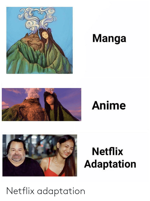 adaptation: Netflix adaptation
