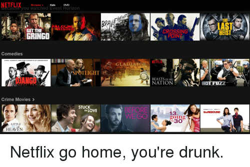 Funny Funny, Movies, And Netflix Memes Of 2016 On SIZZLE