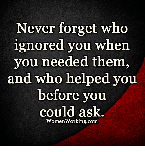 how to forget who you are