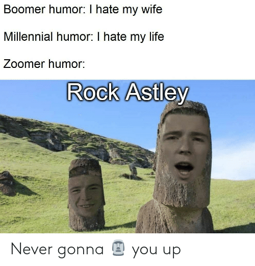 You Up: Never gonna 🗿 you up