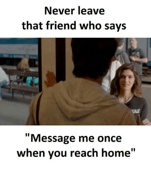 "Memes, Home, and Kale: Never leave  that friend who says  KALE  ""Message me once  whe ""  n you reach home"