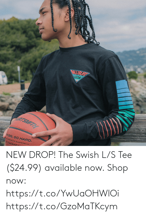 tee: NEW DROP! The Swish L/S Tee ($24.99) available now.  Shop now: https://t.co/YwUaOHWlOi https://t.co/GzoMaTKcym