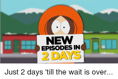 the wait is over