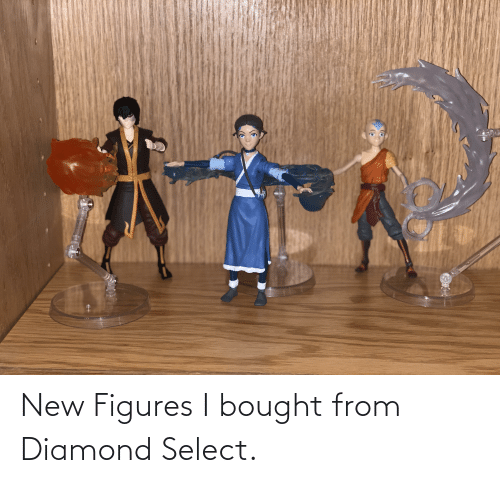 figures: New Figures I bought from Diamond Select.