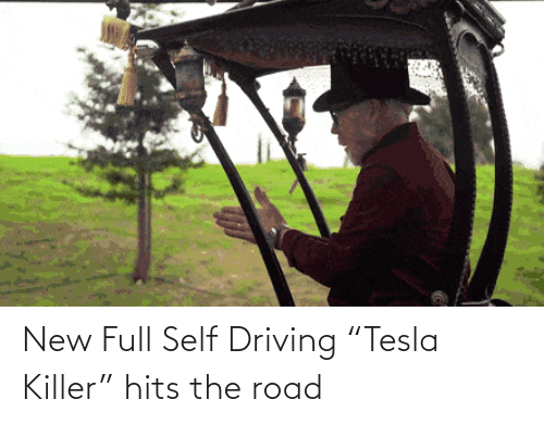 "Hits: New Full Self Driving ""Tesla Killer"" hits the road"