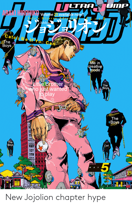 hype: New Jojolion chapter hype