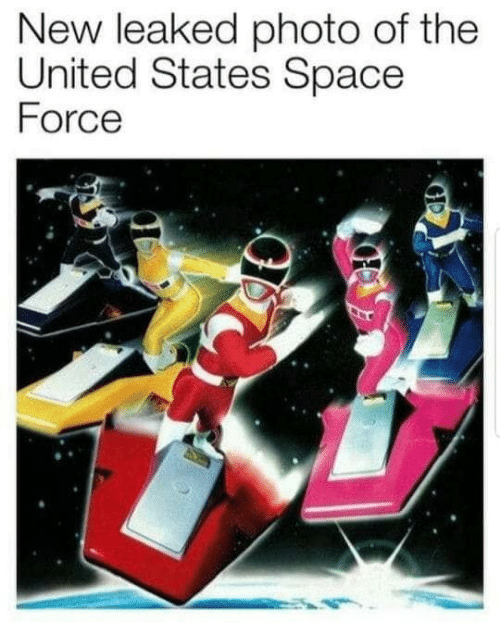 Space Force: New leaked photo of the  United States Space  Force
