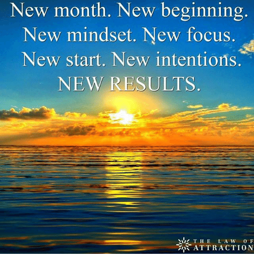 new month new beginning new mindset new focus new start 19948102 search memes of the month memes on me me,New Month Meme