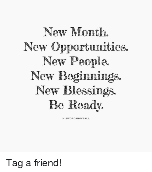 new month new opportunities new people new beginnings new blessings 15465792 new month new opportunities new people new beginnings new,New Month Meme