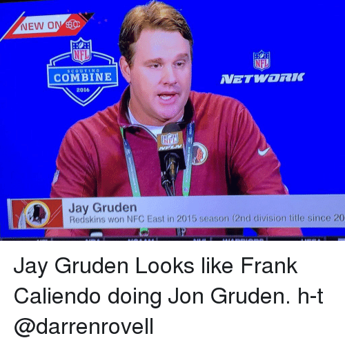 Funny Jon Gruden Memes Of 2016 On SIZZLE Football