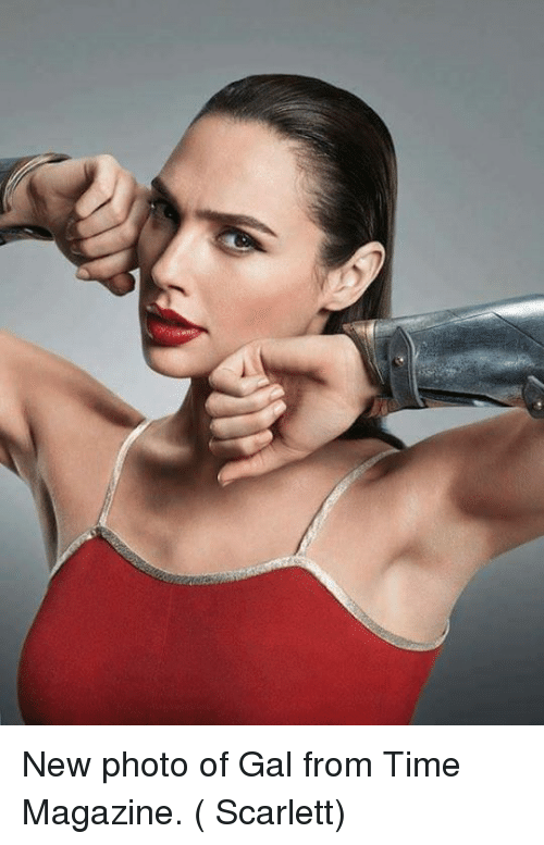 time magazine: New photo of Gal from Time Magazine.  ( Scarlett)