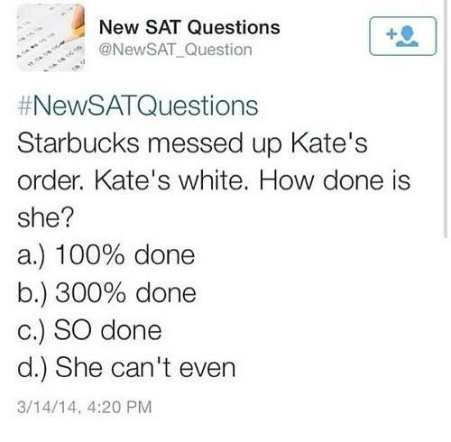 Sat question can a lie be