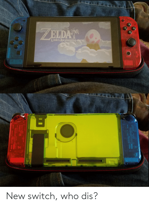 Who dis: New switch, who dis?