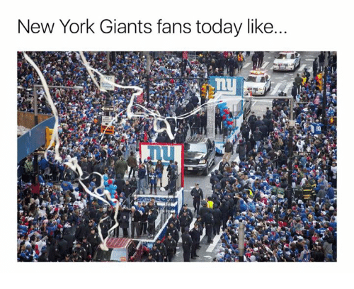 New York, New York Giants, and Nfl: New York Giants fans today like...