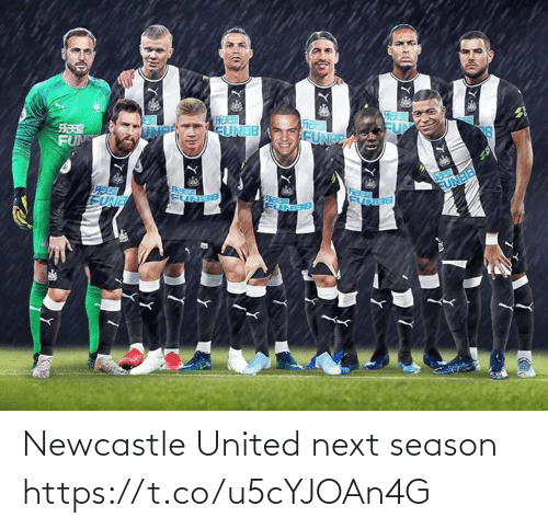 Season: Newcastle United next season https://t.co/u5cYJOAn4G