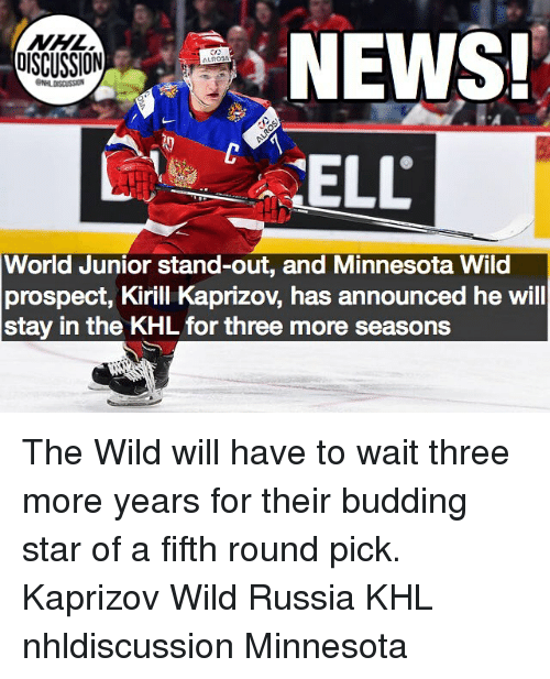 news oiscussion world junior stand out and minnesota wild prospect kirill 24825894 🔥 25 best memes about minnesota wild minnesota wild memes
