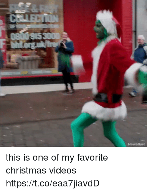 Christmas, Videos, and Girl Memes: Newsflare this is one of my favorite christmas videos https://t.co/eaa7jiavdD