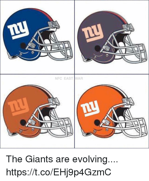 Football, Nfl, and Sports: NFC EASTWAR The Giants are evolving.... https://t.co/EHj9p4GzmC