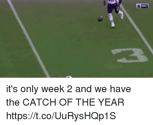 The Catch: NFL it's only week 2 and we have the CATCH OF THE YEAR  https://t.co/UuRysHQp1S