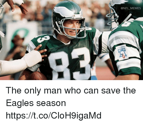 Philadelphia Eagles, Memes, and Nfl: @NFL MEMES The only man who can save the Eagles season https://t.co/CloH9igaMd