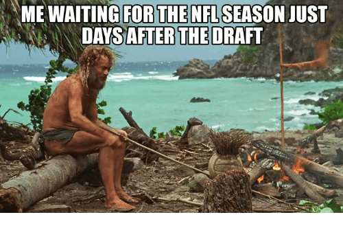 Nfl, Just, and Season: NFL SEASON JUST  DAYSDRAFT  AFTER THE