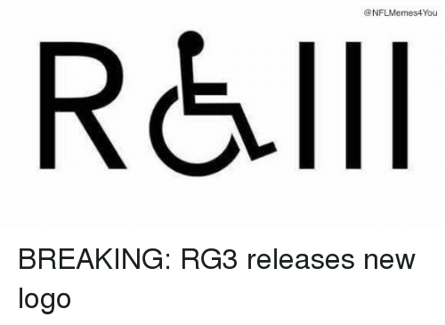 RG3: @NFLMemes4You  R&Ill BREAKING: RG3 releases new logo