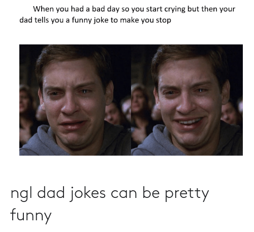 Dad Jokes: ngl dad jokes can be pretty funny