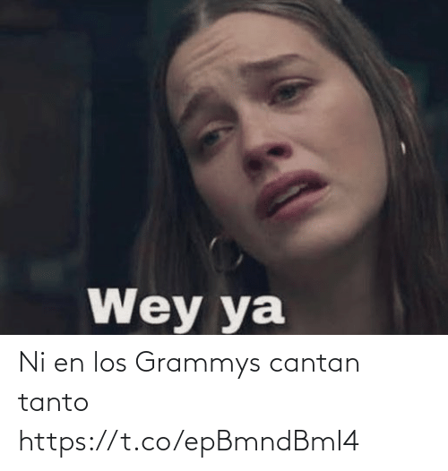 International: Ni en los Grammys cantan tanto https://t.co/epBmndBmI4